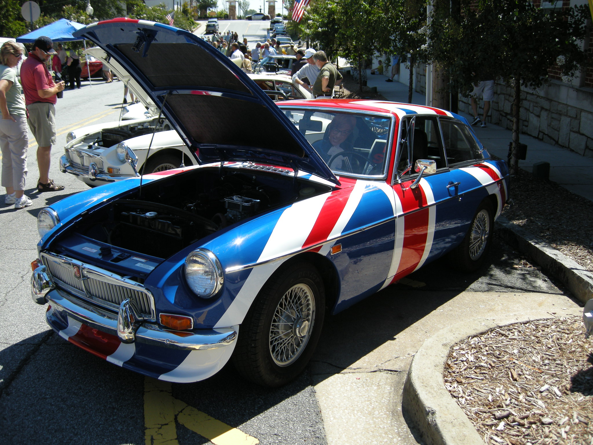 Norcross British Car Show