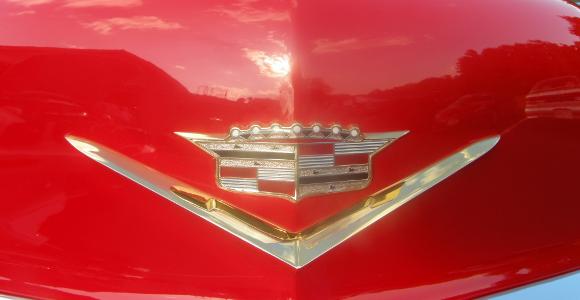 Jeff & Debra's 56 Cadillac Coupe DeVille
