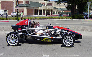Ariel Atom, a unit in the Danville, California...