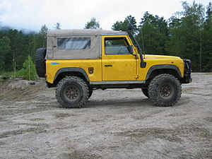 Land Rover Defender 90 softtop