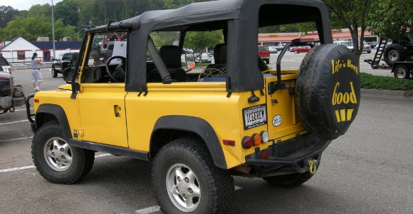 The Ice Cream Man… and his Defender 90