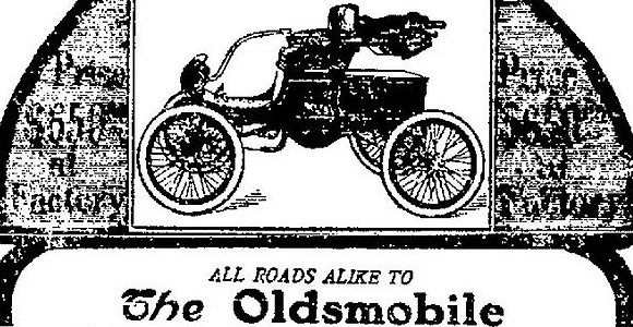 76 Groovy Cars on eBay… Part 54, 1902 Curved Dash Oldsmobile