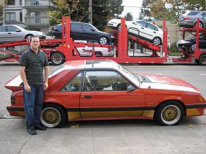 A picture of me in front of car to show exampl...
