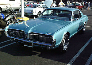1967 Mercury Cougar. Photo by User:Morven at t...