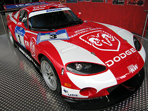 One of Zakspeed's Viper GTS-Rs from the 24 Hou...