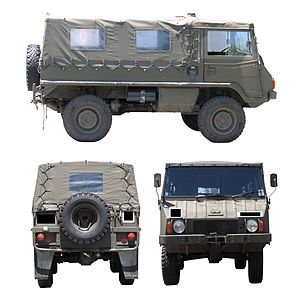 Pinzgauer 710M 4x4 model