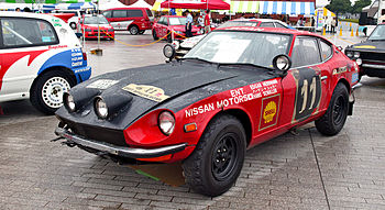1971 Datsun Fairlady 240Z, the winning car of ...
